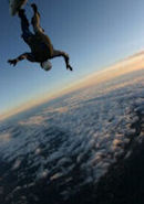 Photo of Duff Brenna skydiving